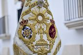 stock photo of passion christ  - Holy Week in Spain procession of  - JPG