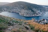 pic of sevastopol  - General view of Balaklava from hight - JPG