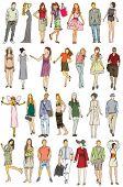 Постер, плакат: Мода & люди