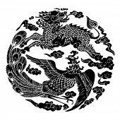 Постер, плакат: Вектор китайской традиционной художественной модели