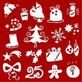 image of reveillon  - Christmas silhouettes 1 - JPG