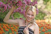 foto of 24th  - angel posing at ottawas famed tulip festival may 24th - JPG