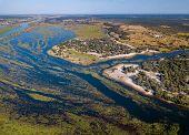 Okavango Delta River In North Namibia, Africa poster