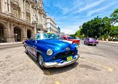 HAVANA-AUGUST 12:Classic Pontiac August 12,2011 in Havana.Under the current law that the government