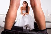 picture of striptease  - Bride shocked at the groom striptease - JPG