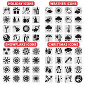 stock photo of cold-weather  - Elegant Vector Holiday - JPG