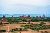 Pagoda of old Bagan ancient city, Burma