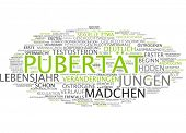 foto of puberty  - Word cloud  - JPG
