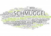Word cloud -  smuggling