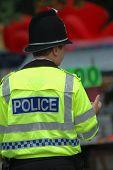 stock photo of bobbies  - british police patrol - JPG