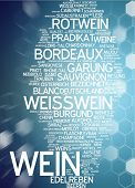 Word cloud -  wine
