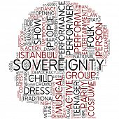 Info-text graphic - sovereignty