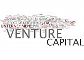Word cloud - venture capital