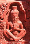 pic of kama  - stone carving for the statue of rishi - JPG
