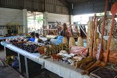 picture of memento  - Souvenir store at town market South Pacific region Tonga - JPG