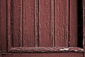 pic of marsala  - detail of a marsala colored painted wooden frame - JPG