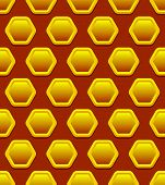picture of honeycomb  - Eps 10 Vector Illustration of Honeycomb Pattern  - JPG