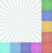 picture of starburst  - Eps 10 Vector Illustration of Sunbeam Starburst  - JPG