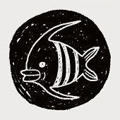 pic of angelfish  - Doodle Angelfish - JPG
