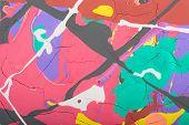 Постер, плакат: abstract painting background illustration