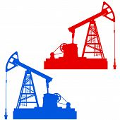 picture of nod  - The Oil pumpjack a Oil industry equipment - JPG