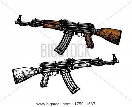 Weaponry armament symbol