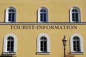 Tourist Information Bavarian Style poster