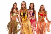 foto of hula dancer  - Beautiful hawaiian Hula Dancer Girls - JPG