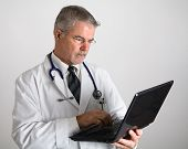Doctor Entering Information