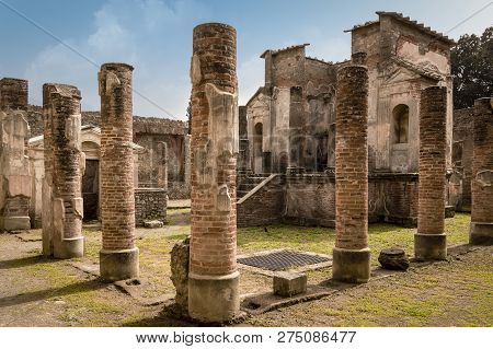 Pompeii Ruins Temple Of Isis