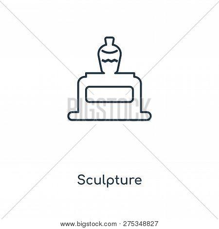 Sculpture Icon In Trendy Design