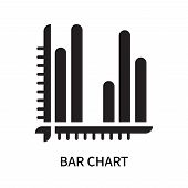 Bar Chart Icon Isolated On White Background. Bar Chart Icon Simple Sign. Bar Chart Icon Trendy And M poster