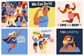 International Womens Day. We Can Do It Poster. Strong Girl. Symbol Of Female Power, Woman Rights, Pr poster