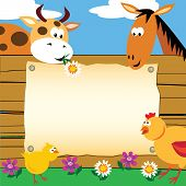 Farm Animals Card
