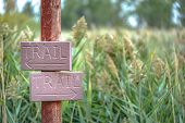 Trail Sign Pointing To Hiking Trails In Provo Utah poster