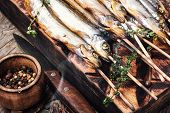 Smoked Fish In A Smoker poster