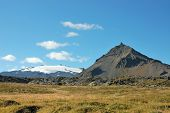 Snaefellsjokull Mountain At 1446 Meter Height.