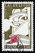 Postage Stamp France 1981 Bookbinding