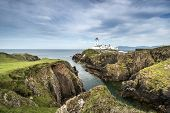 picture of coast guard  - White Lighthouse Fanad Head County Donegal North Ireland - JPG