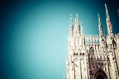 foto of enormous  - Duomo of Milan  - JPG