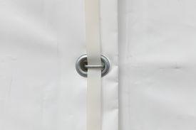 image of tarp  - white tarp or waterproof tarpaulin detail background - JPG