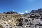 picture of aconcagua  - Aconcagua the highest mountain in the Americas at 6 - JPG