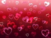 picture of adoration  - Hearts Background Meaning Love Adore And Friendship - JPG
