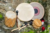 stock photo of drums  - Group of four - JPG