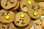 pic of rudolf  - round and tasty Rudolf Cookies for Christmas - JPG