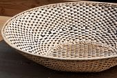 pic of bast  - Close up of homemade bowl made from bast - JPG