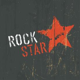 picture of rocking  - Rock Star Illustration - JPG