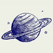 picture of saturn  - Planet Saturn - JPG