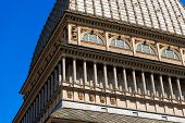 image of turin  - Detail of the Mole Antonelliana  - JPG