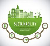 picture of sustainable development  - eco sustainibility design - JPG